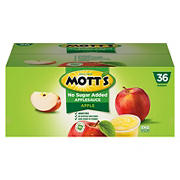 Mott's Natural Apple Sauce, 36 pk./3.9 oz.