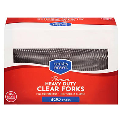 Berkley Jensen Clear Forks, 300 ct.
