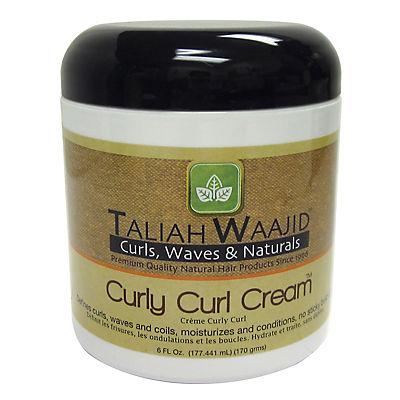 Taliah Waajid Curly Curl Cream, 6 oz.
