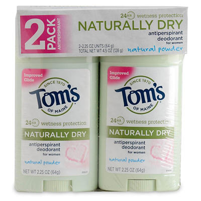 Tom's of Maine Deodorants, 2 pk./2.25 oz.