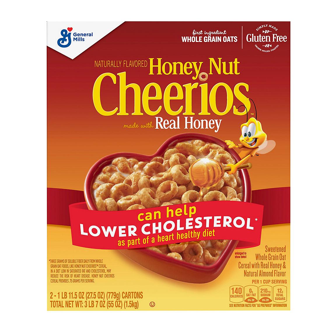 Honey Nut Cheerios, 55 oz. - BJs