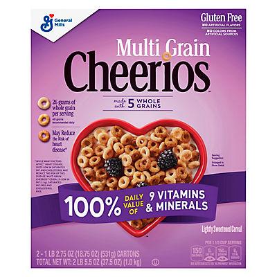 General Mills Multi-Grain Cheerios, 37.5 oz.