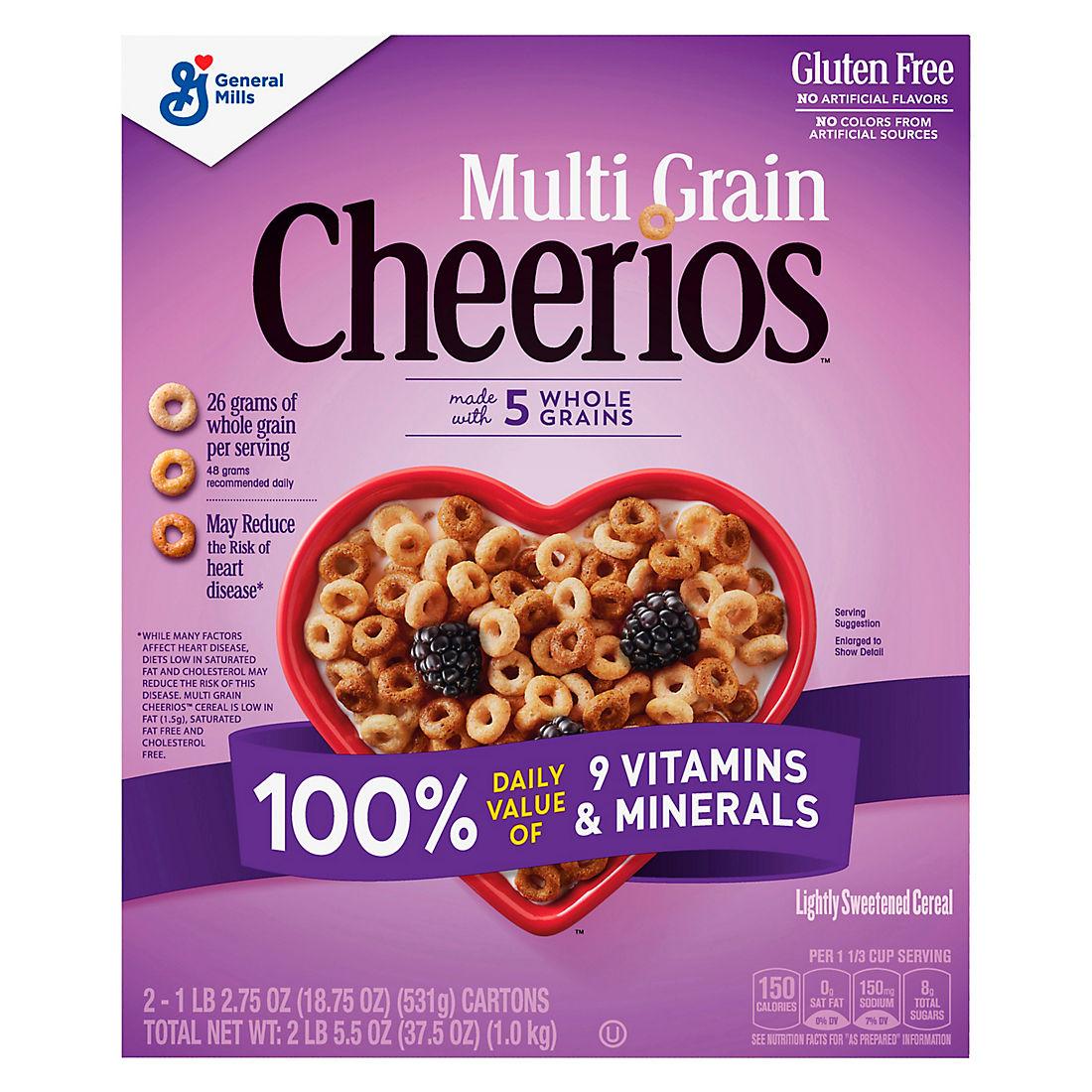 Multi-Grain Cheerios, 37.5 oz