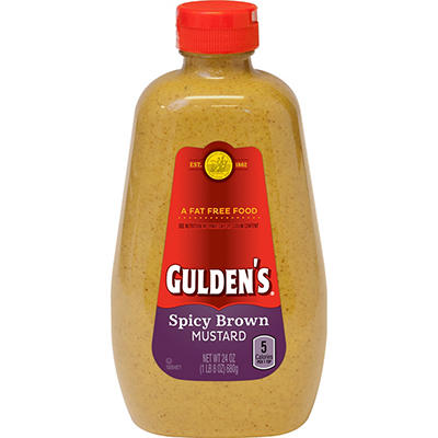 Gulden's Spicy Brown Mustard, 24 oz.Bottles, 2 ct.