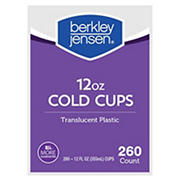 Berkley Jensen 12-Oz. Cups, 260 ct. - Translucent