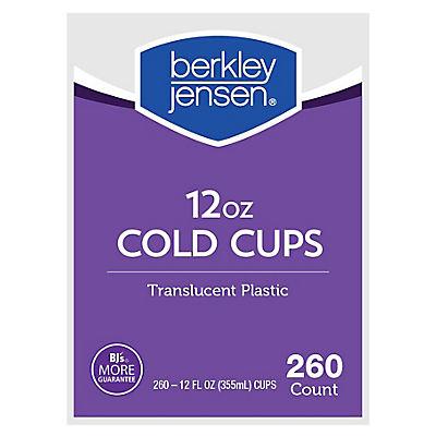 Berkley Jensen 12-Oz. Cups, 260 ct. - Translucent