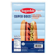 Sugardale Super Dogs, 5 lbs.