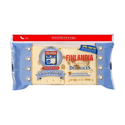 Finlandia Light Swiss Cheese, 1.5 lbs.
