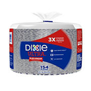 "Dixie Ultra 10"" Paper Dinner Plates, 154 ct. - Flower Power"