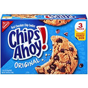 Nabisco Chips Ahoy Cookies, 3 pk./18.2 oz.