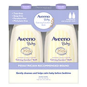 Aveeno Baby Calming Comfort Lavender and Vanilla Tear-Free Bath Wash, 2 pk./18 fl. oz.
