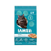 IAMS ProActive Health Adult Indoor Weight & Hairball Care Dry Cat Food, 16 lbs.