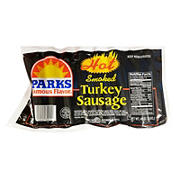 Parks Hot Smoked Turkey Sausage, 3 lbs.