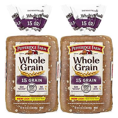 Pepperidge Farm 15 Grain Bread, 2 pk./24 oz.