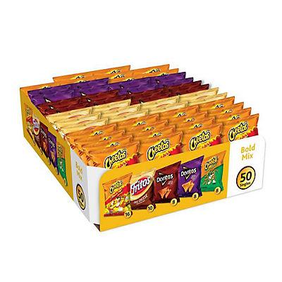Frito-Lay Bold Mix Variety Pack, 50 ct.