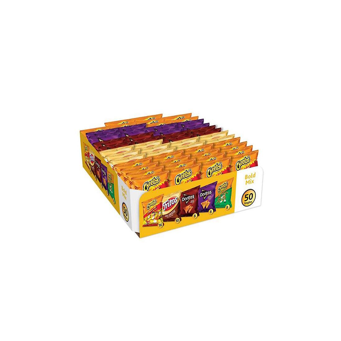 Frito-Lay Bold Mix Variety Pack, 50 ct