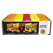 Frito-Lay Flamin Hot Variety Pack, 30 ct.