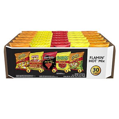 Frito-Lay Flamin Hot Variety Pack, 30 ct.