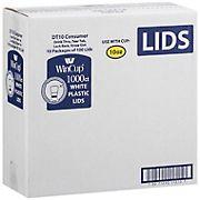 WinCup 10-Oz. Foam Cup Lids, 1,000 ct. - White
