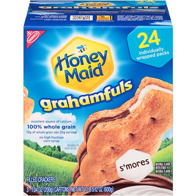 Nabisco Honey Maid Grahamful S'mores, 24 pk./0.88 oz.