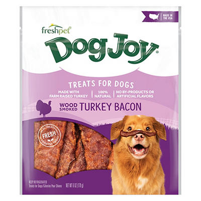 Freshpet Dog Joy Turkey Bacon Treats, 6 oz.