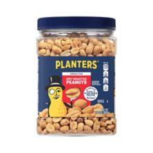 Planters Unsalted Dry Roasted Peanuts 35 Oz Bjs Wholesale Club