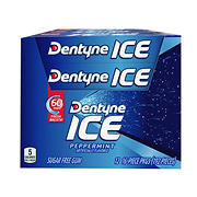 Dentyne Ice Peppermint Gum, 12 pk./16 ct.