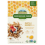 Cascadian Farm Organic Oats and Honey, 48.5 oz.