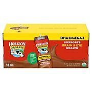 Horizon Organic DHA Omega-3 Chocolate Low-Fat Milk, 18 pk./8 oz.