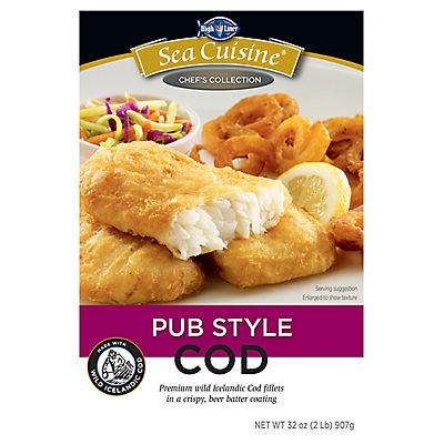 Sea Cuisine Pub Style Cod, 32.oz.