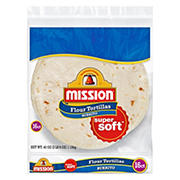 Mission Flour Tortilla, Burrito Size, 16 ct.