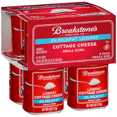 Breakstone's 2 Percent Small Curd Cottage Cheese, 8 pk./4 oz.