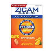 Zicam Cold Remedy Rapid Melts, 45 ct.