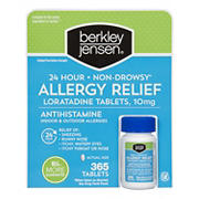 Berkley Jensen Non-Drowsy Allergy Relief, 365 ct.