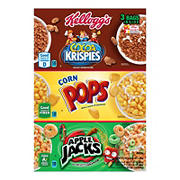 Kellogg's Tri-Fun Cereal Box, 3 pk./57.5 oz.