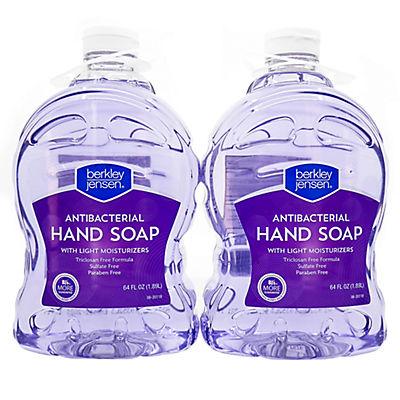 Berkley Jensen Antibacterial Hand Soap, 2 pk./64 oz.