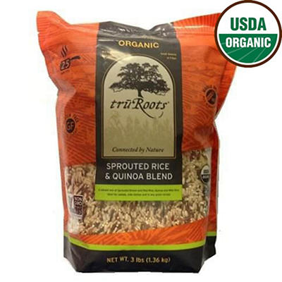 truRoots Organic Sprouted Rice and Quinoa Blend, 3 lbs.