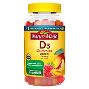 Nature Made Vitamin D Adult Gummies, 275 ct.