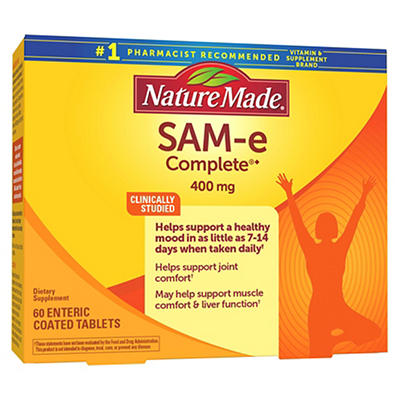 Nature Made 400MG SAM-e Supplements, 60 ct.