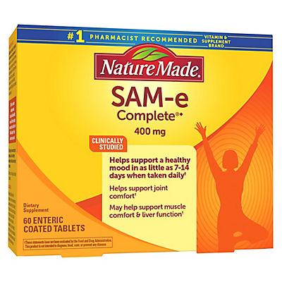 Nature Made 400MG SAM-e Supplements, 60 ct.