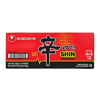 Nong Shim Ramyun Noodle Soup, 16 pk./4