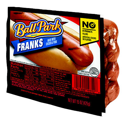 Ball Park Franks, 4 pk./15 oz.