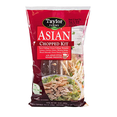 Taylor Farms Asian Chopped Salad Kit, 13 oz.