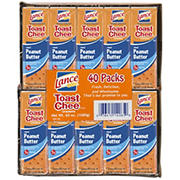 Lance Toast Chee Peanut Butter and Cheese Crackers, 40 pk./1.5 oz.