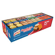Lance Sandwich Crackers & Cookies Variety Pack, 36 pk.
