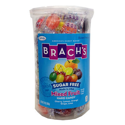 Brach's Sugar Free Mixed Fruit Hard Candy, 24 oz.