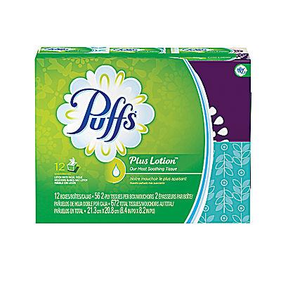 Puffs Plus Facial Tissue, 992 sheets
