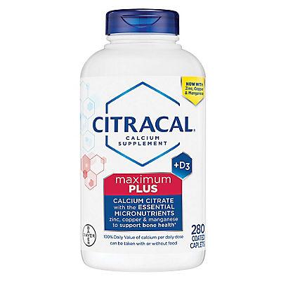 Citracal Calcium Plus D3, 280 ct.