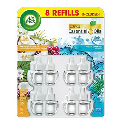 Air Wick Scented Oil Refill Fragrance Bottles, 8 pk./0.67 fl. oz.