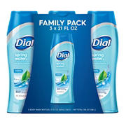 Dial Spring Water Body Wash, 3 ct.